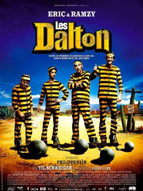 Les Daltons affiche